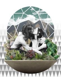 Succulent Kiss